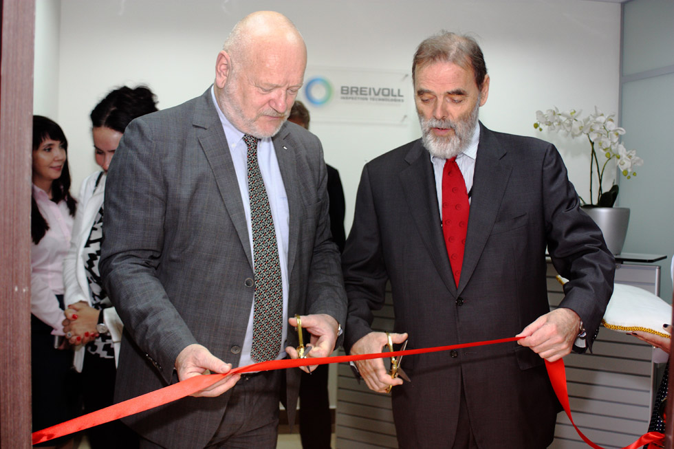 Official Opening of Breivoll Inspection Technologies' Branch Office 1