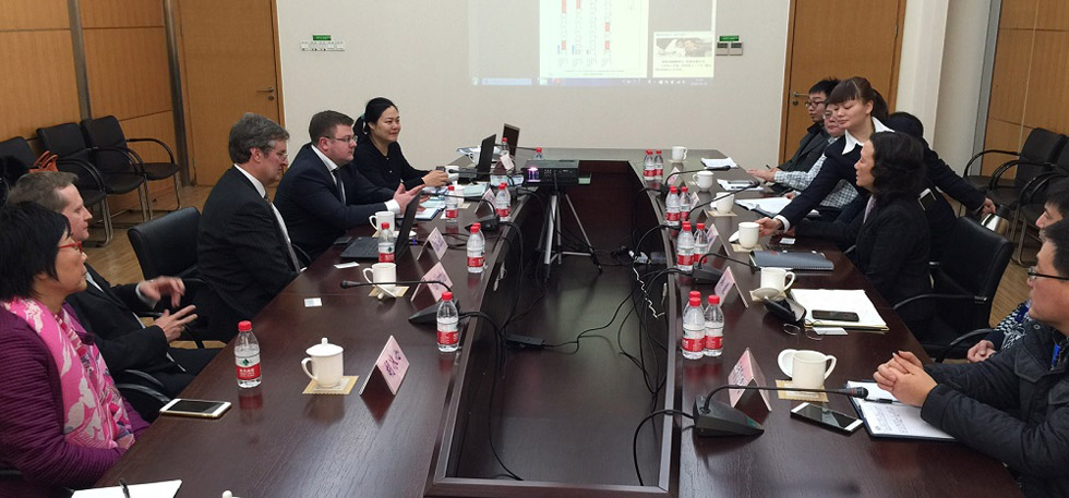 meeting in China